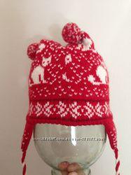 Зимняя шапка шерсть