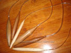 Спицы бамбуковые 12 и 20 мм
