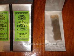 Набор иголок для вышивания бисером