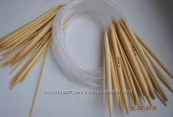 Круговые спицы бамбук, металл, тефлон