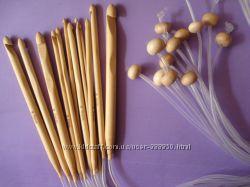 Тунисские бамбуковые крючки с леской