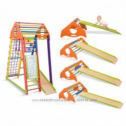 Детский развивающий комплекс BambinoWood Color Plus