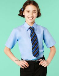 Рубашка блуза MARKS&SPENSER для девочки, размер 158 см. на бирке на 13 лет