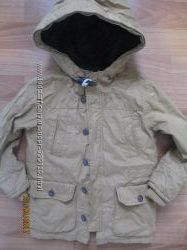 Тёплая курточка Gap на 5 лет до -5 смело