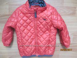 Яркая, стёганная деми курточка Debenhams на 2-3 года