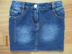 Мягкая джинсовая юбка Young Dimension на 3-4 года