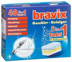 Таблетки для посудомоечной машины Bravix 40шт Германия.