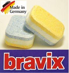 Таблетки для посудомоечных машин Bravix 5в1, 100 шт   Германия