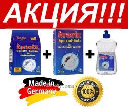 Bravix - средства для посудомоечных машин порошок, соль, ополаскиватель