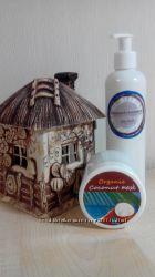Натуральная шампунь, на основе кокосового масла