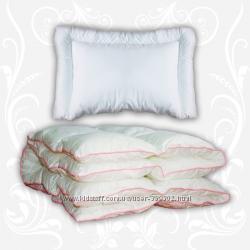 Детские комплекты одеяло и подушка TM TAG. Разные виды и размеры
