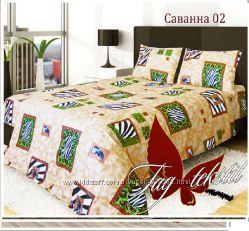 2-спальный комплект постельного белья из бязи ТМ TAG. Красивые, качестве