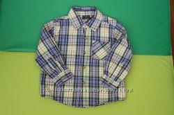 Рубашка Faded glory 3T 92-98 см в отличном состоянии