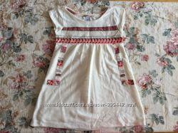 9-12 лет. ZARA. Платье - туничка на подкладочке. В идеале.