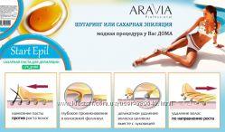 Косметика  ARAVIA  START EPIL  сахарная  паста  для домашнего шугаринга