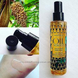 Разглаживающее масло для волос Амазонский Мурумуру Matrix Oil Wonders Amazo