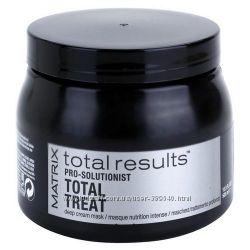 Мгновенное восстановление Интенсивная крем-маска Total Treat