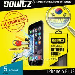Оригинальное защитное закаленное стекло фирмы SOULTZ для iPhone 6