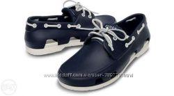 Продам мужские мокасины Crocs Beach Line Boat Shoe