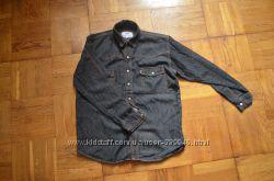 Джинсова рубашка р. 152