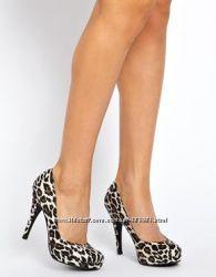 Леопардовые туфли из Англии