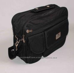 Фирменная сумка через плече фирмы DING DA