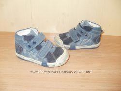Моднявые ботиночки-кеды RICHTER р-р 21 на мальчугана