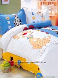 Комплект постельного белья  Le Vele Dog Love в детскую кровать  бу 2 раза