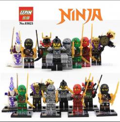 Нинзя, Ninja Minifigures, Нинзяго минифигурки