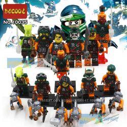 Ninja Minifigures Нинзяго минифигурки с обезьянами