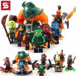 Нинзя, Нинзяго,  Ninja Minifigures, Нинзяго минифигурки