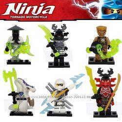 Minifigures Decool, Ninja, Нинзяго