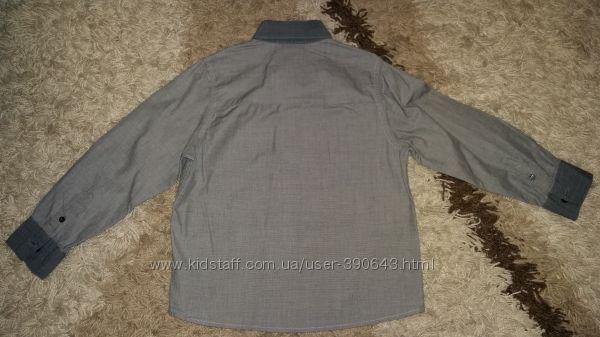 Рубашки  на 6-8 лет, рост 116-128 см.