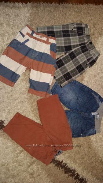 Шорты Next и джинсовые George, на 6-8 лет, рост 116-128 см.
