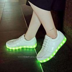 Кроссовки светящиеся Led