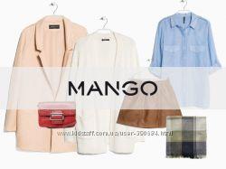 Чоловічий та жіночий одяг Мango під 10 проц. без плати за вагу