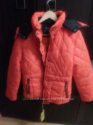 Женская зимняя стеганная куртка размер ХЛ