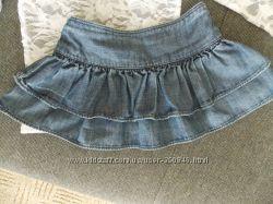 Очень классная юбка GAP до 3 лет