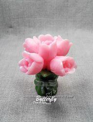 Букет Тюльпанов Мыло ручной работы