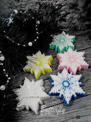 Снежинка Королевская Мыло ручной работы
