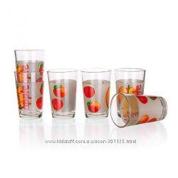 Набор стаканов Banquet Яблоки 230 мл, 6 шт