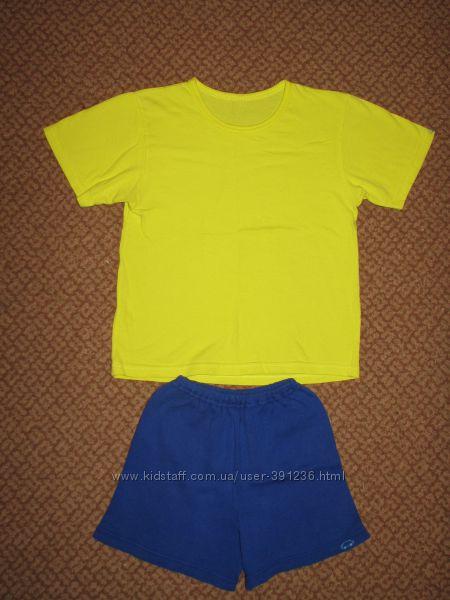 Костюмчик спортивный футболка и шорты р. 110-116