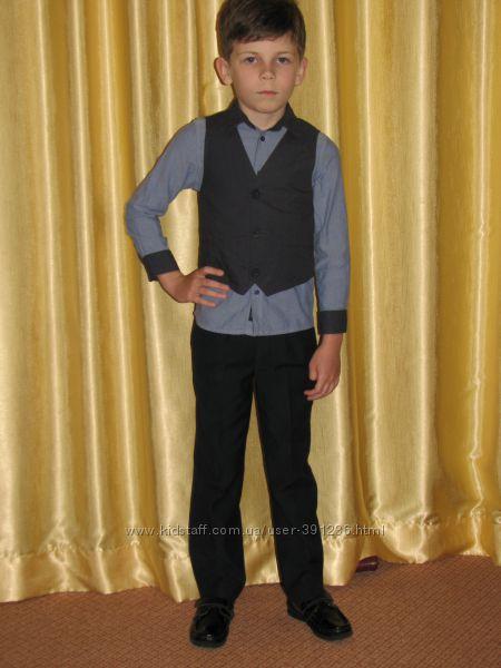 Рубашка Coolclub Young Mans Collection р. 116 и жилет