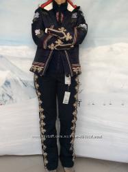 Bogner синий женский лыжный костюм
