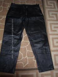 кожаные брюки р. 54