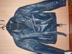 Кожаная куртка косуха р. 48 ECHTES LEDER
