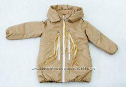 Зимнее термо пальто для девочки  р. 110-134. Новая коллекция