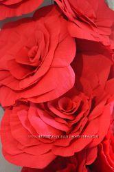 Гигантские цветы для фотосесии