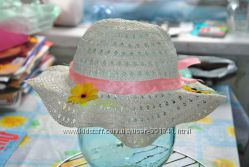 шляпка на девочку 2-5лет