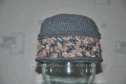 шапка вязанная